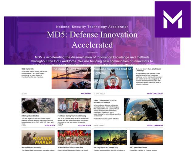 Sponsor for this year's Innovation Symposium - MD5